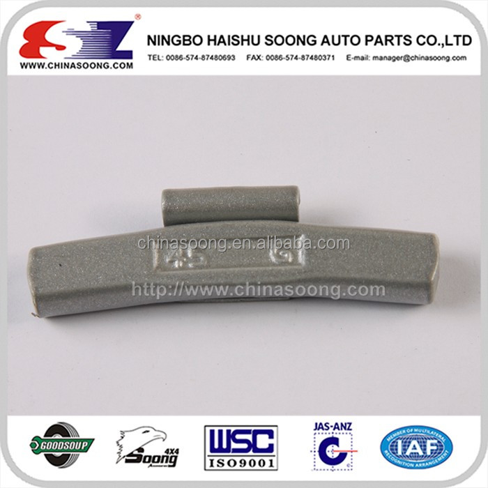 New type fe adhesive zinc car wheel balance weight for car