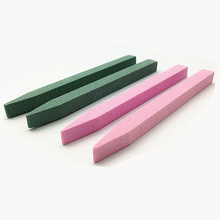 Newest professional manicure tools nail file manufacturer free sample eco-friendly stone nail file with pumice stone