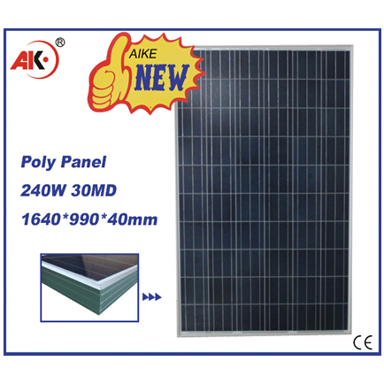 240W poly solar panel photovoltaic module