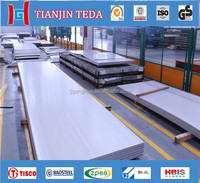 300 Series Grade 304 4' x 8' hot rolled stainless steel sheet