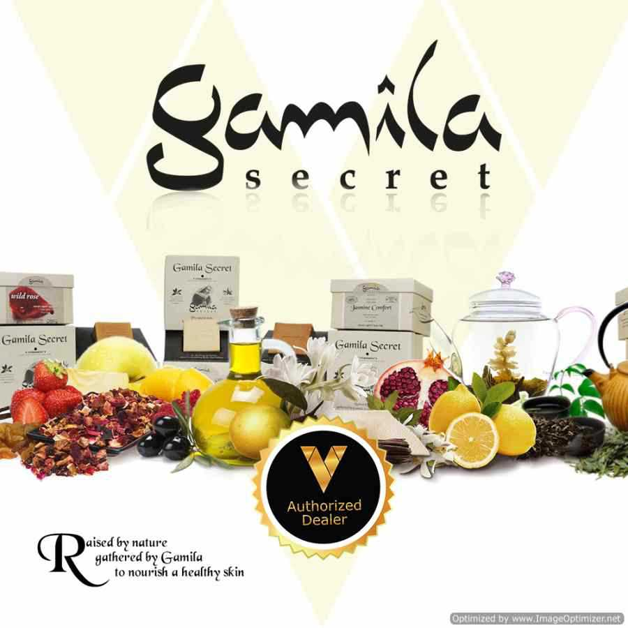Gamila Secret - Natural organic soap - original box!