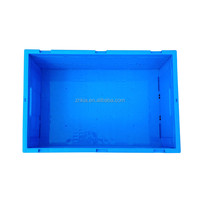 Recyclable new PP plastic turnover tote bin