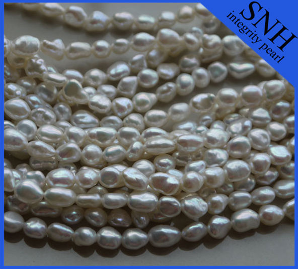 8-9mm AAA grade nugget pearl necklace