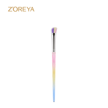 2018 latest fashionsample beauty tool individual good brand angled eye make up brush angled eyeshadow brush