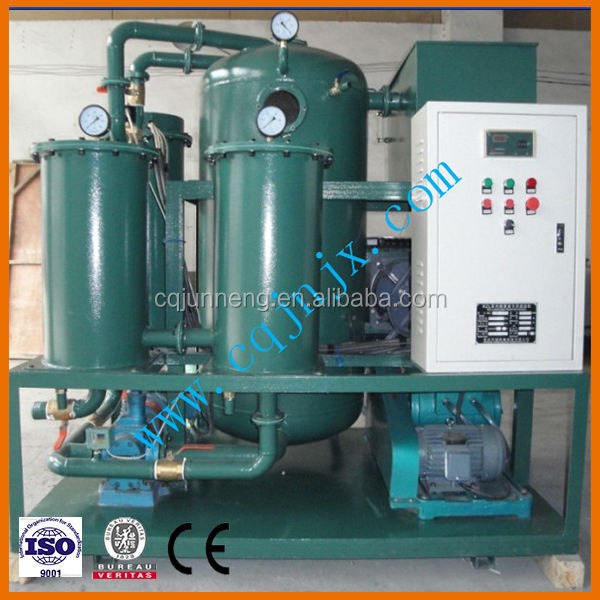China of chongqing Dehydration impurities Turbine oil purifier