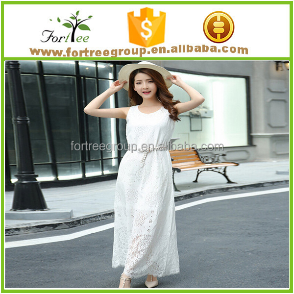 white beach wedding and party dress