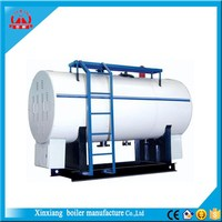 Horizontal WNS Fire tube Industrial Oil Gas steam Boiler price