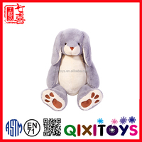 High quality custom animal easter toy rabbit shape bear plush