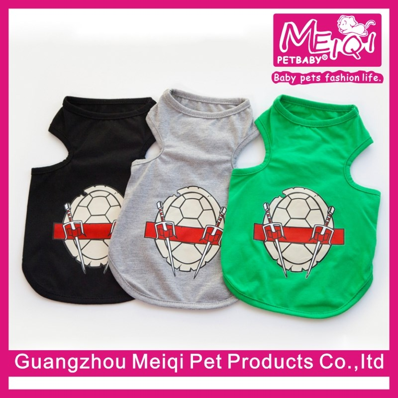 Cheap Small Dog Tank Top Blank Pet Clothes Wholesale Plain Dog T-shirts