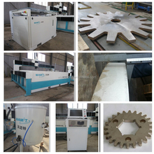 NEW YEAR DISCOUNT 420mpa high pressure 150mm carbon steel small CNC water jet cutting service machine