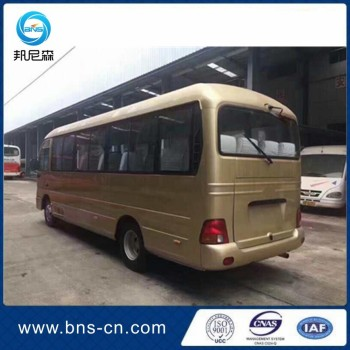 Left steering drive Korea original 20-23 seaters used county used mini bus in stock