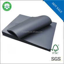 hot sale 80 gsm black thin cardboard sheets/ 110 gsm black cardboard for paper tube