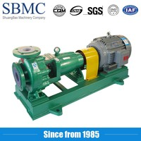 High quality non leakage industry waste water variable speed pump
