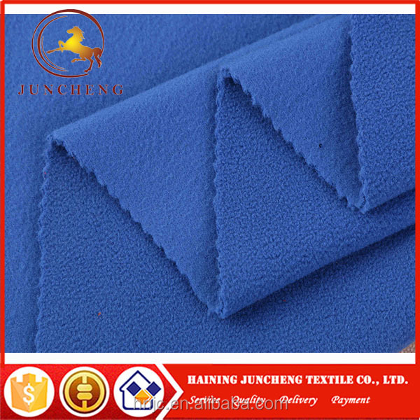 Various color environmental friendly two side brushed polar fleece blankets fabric