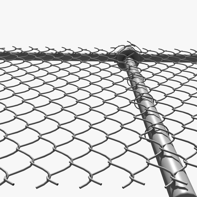 galvanized or black PVC coated chain link mesh fence/chain link netting