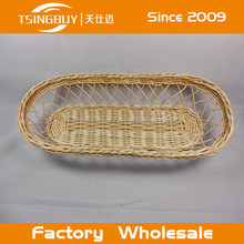 Handcraft customized natural willow willow basket london/PP Rattan Basket with LFGB approved