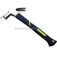 High quality British type claw hammer with plastic coating handle