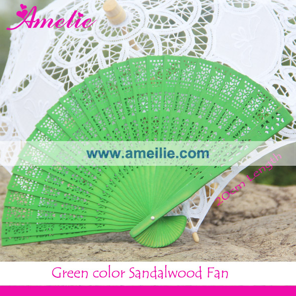 Customized Logo Wedding Party Guests Favors Gifts White Wood Wedding Hand Fan
