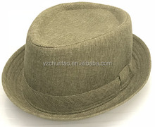 Quality fashion custom cheap wholesale mens fedora hat