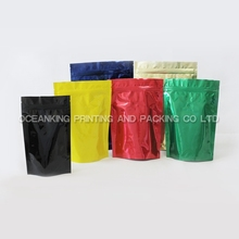 aluminum foil coffee packaging bags with valve