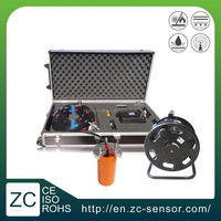 Dual axis high accuracy waterproof IP68 calibration of inclinometer with strong steel wire cable (ZCT-CX03D-E)