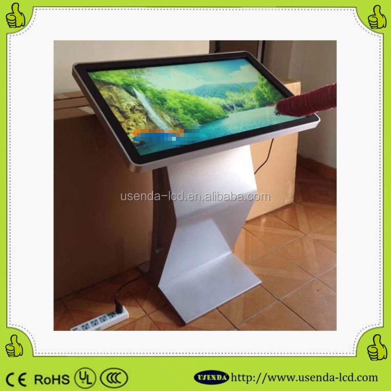 Full hd fast touch lcd tablet information kiosk sale smart phone internet free stand advertisement kiosk