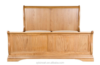 wooden bed 2016 new desigh American white oak