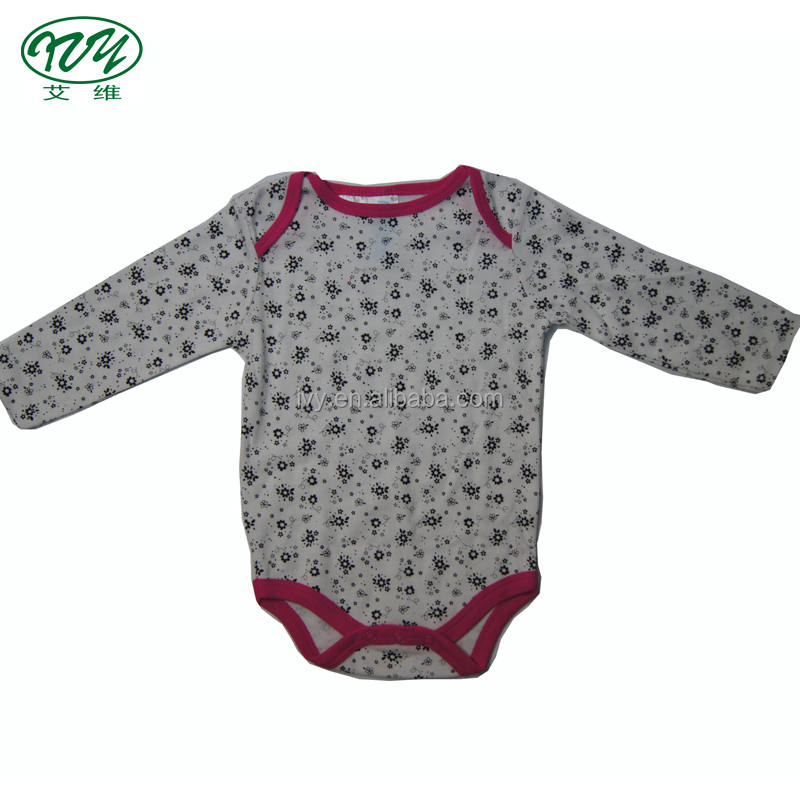 Baby Rompers Lovely Printed Style Baby Clothes Newborn Cotton Baby Girl Bodysuits