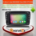 Hifimax Android 7.1 car navigation FOR Benz C-W203:(2000-2005) for w210 dvd gps for w210 radio for WITH WIFI 3G INTERNET DVR