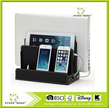Hot Selling Leather Charging Station for Smartphones, Tablets and Laptops. Universal Compatibility with iPad!