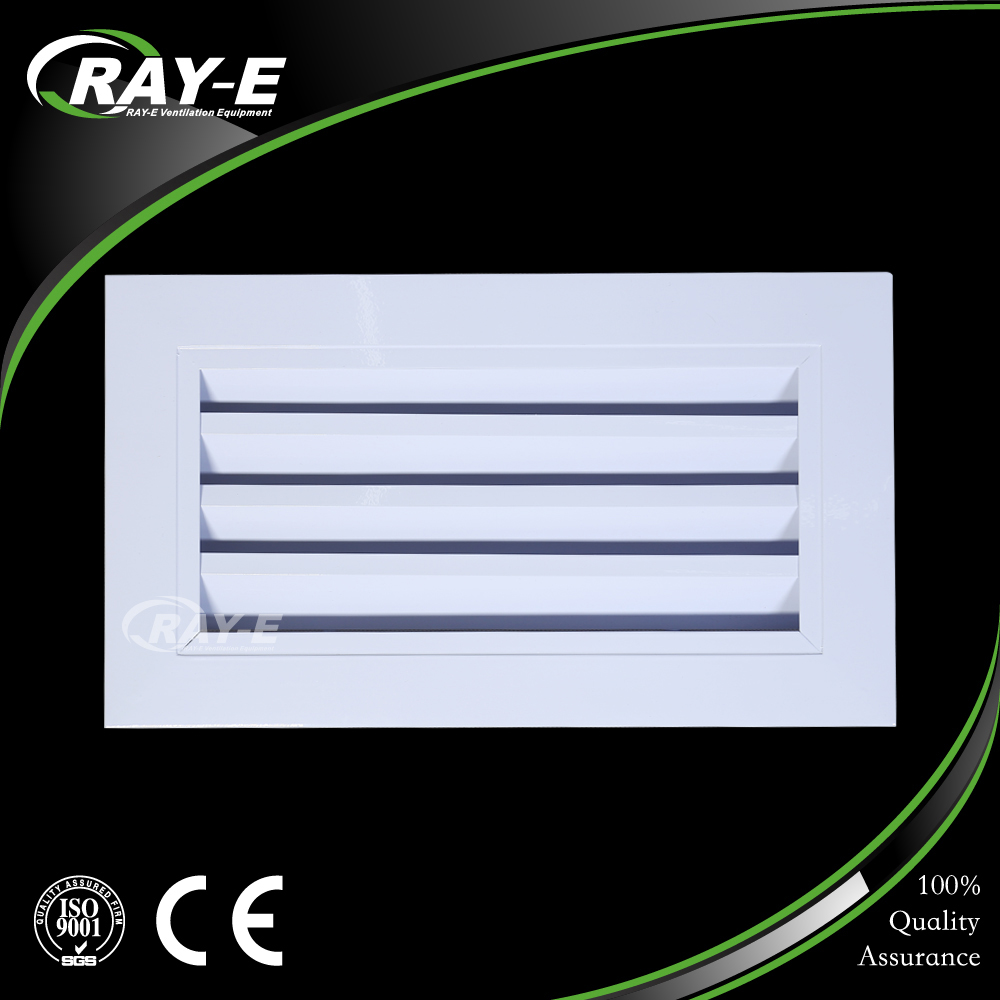high quality aluminum air linear louver outlet grille ventilation diffuser air vent