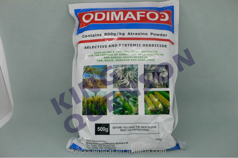 fast delivery Atrazine 90% WDG, 80% WP, 500 g/L SC or on your requirement