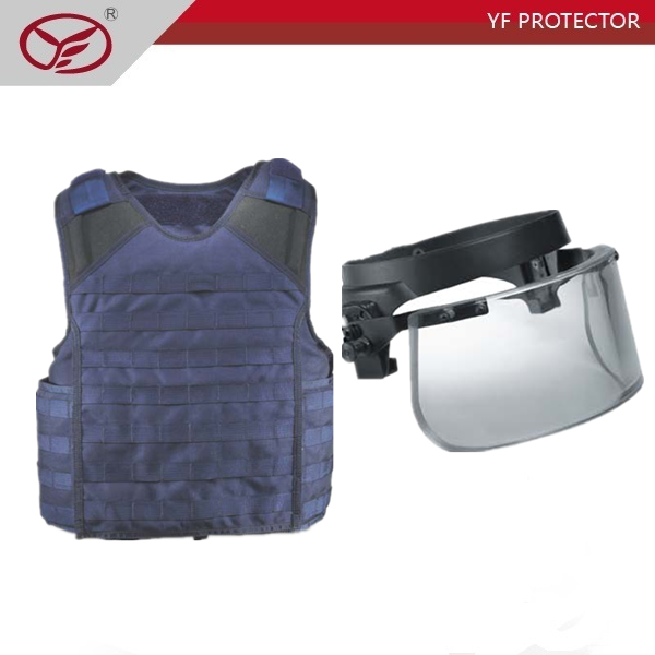 Hard material against AK47 wholesale bullet proof vest for police