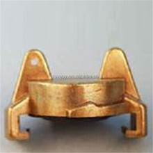 high quality hard brass material cam lock fittings, geka blank brass coupling