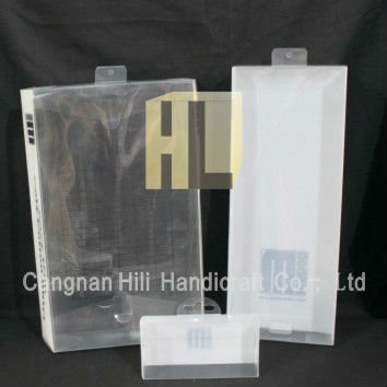 Plastic Clear Hanking Hole Boxes for underware