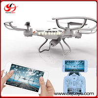 Toysky Hottest 2.4G fpv quadcopter wifi camera with APP control helicopter drone