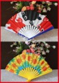 Hot and promotional plastic hand fan