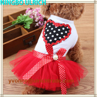 CS74 hot sale cute design wholesale dog dress
