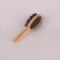 Felicare 2016 hot sale bamboo pet bath brush for dog