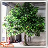 Real wood branches plastic red fruit artificial green leaves apple tree with fiberglass trunk for garden decor