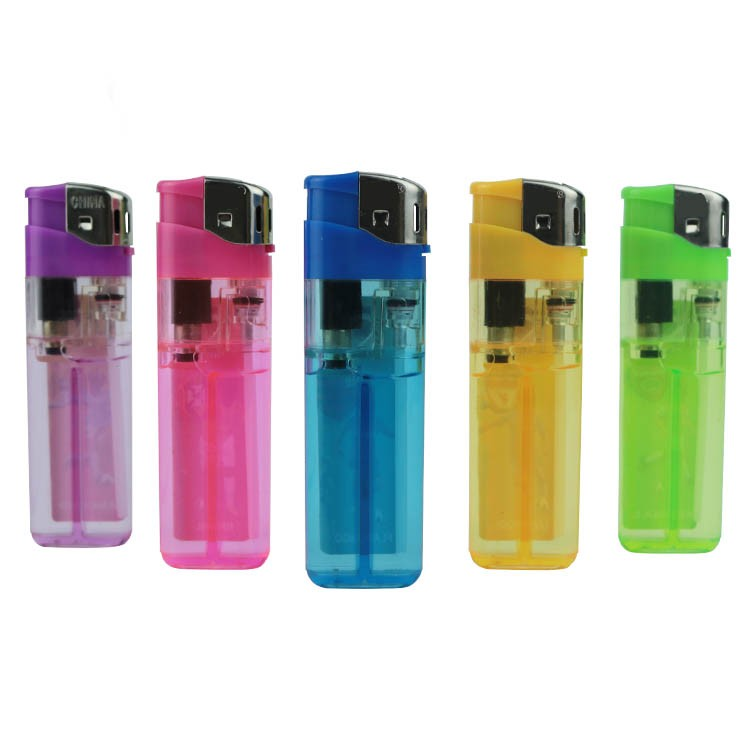 Personalized sticker slim electronic custom disposable lighter wholesale