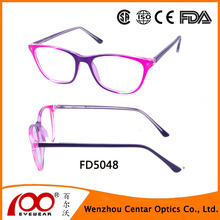 wenzhou Factory Produce Acetate Wholesale Eyeglasses Optical Frames