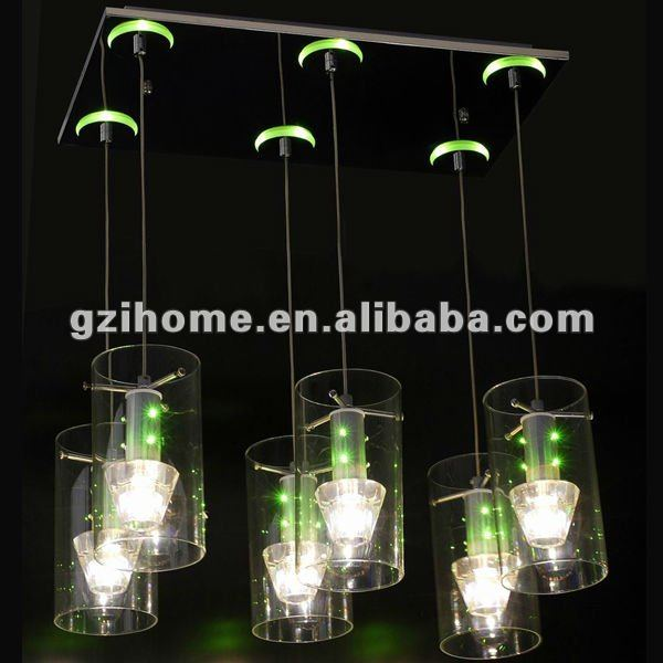 special color chandelier lamp for dining room