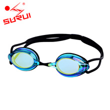 Professional Swimming Goggles Silicone Transparent Swimming Glasses