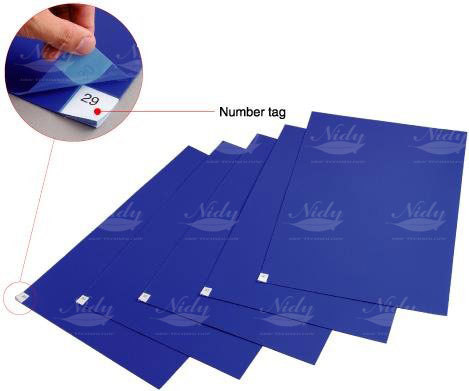 High Quality Washable ESD Sticky Mat For Cleanroom Hosptial Door Floor / Antistatic Sticky Gel Mat With Low Price