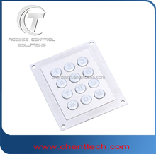 12 keys round keypad used for handfree phone rugged phone