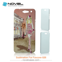 New arrival wholesale 3d balnk sublimation phone case for Foxconn 826