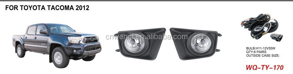 TOP QUALITY FOR TOYOTA TACOMA 2012 FOG LAMP