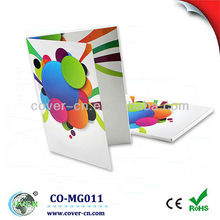 USB mp3 greeting card with customized design for any size