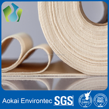 Aramid needle felt filter cloth fabric material